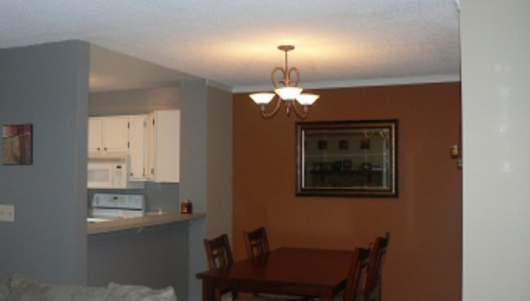 st. louis park condo rental dining room