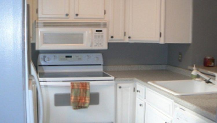 st. louis park condo rental kitchen