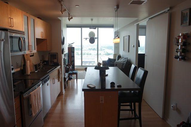 bloomington condominium breakfast bar