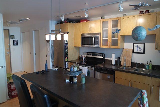 bloomington condominium kitchen