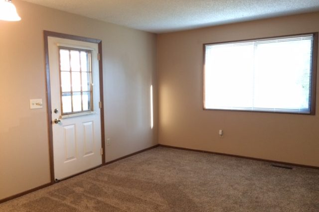 maple grove townhome rental living room