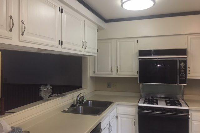 edina twinhome rental kitchen