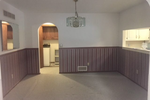 edina twinhome rental dining room