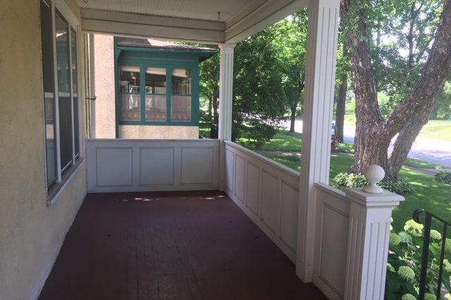 minneapolis duplex rental porch