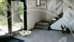 mound duplex rental living room