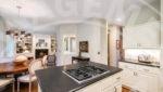 Edina home rental kitchen island