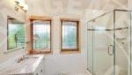 Edina home rental stand up shower