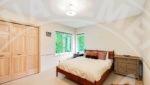 Edina home rental master bedroom