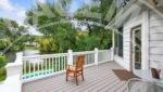 Edina home rental deck