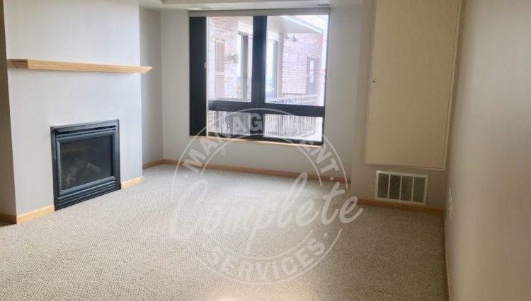 richfield condominium rental fireplace