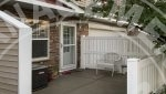 plymouth townhome rental patio